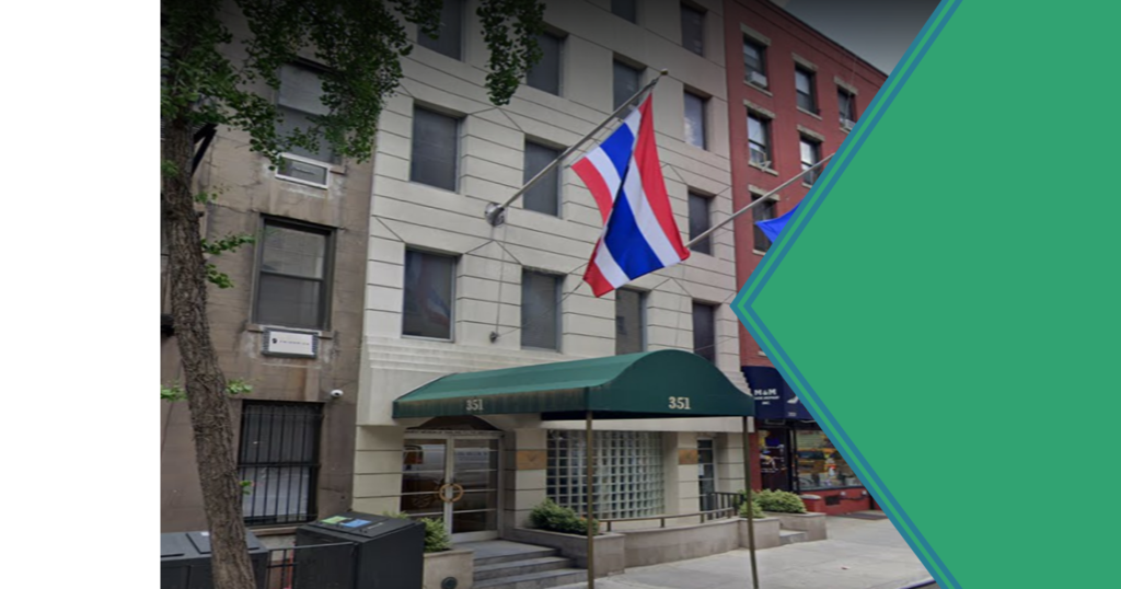 Glaibaan Thai embassy NY USA
